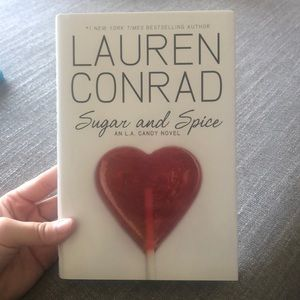 "Lauren Conrad ""Sugar and Spice"" hardcover book"